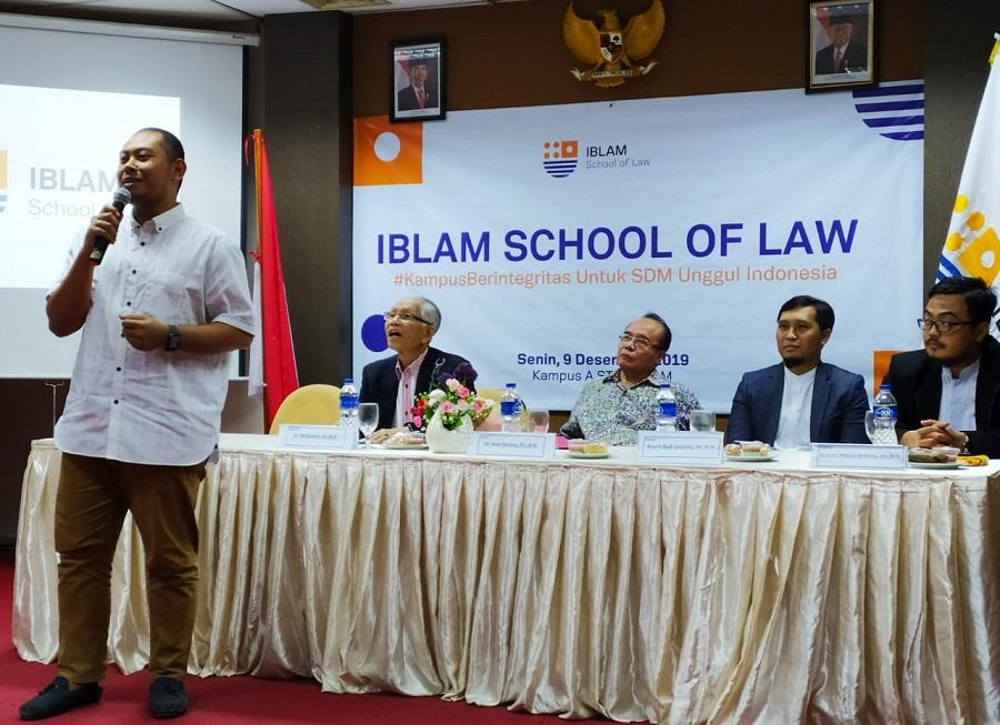 Kedepankan Integritas  IBLAM School of Law Umumkan Visi Misi dan Logo Baru