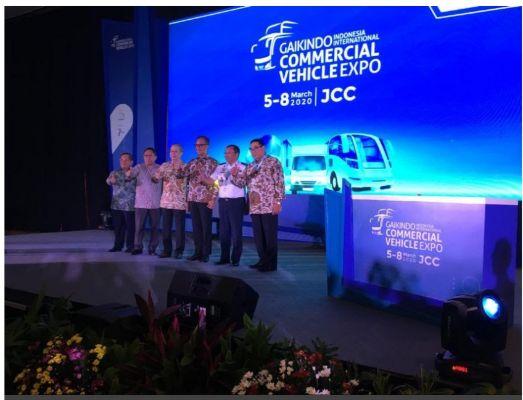 GIICOMVEC 2020 Penuhi Solusi Semua Kebutuhan Kendaraan Komersial