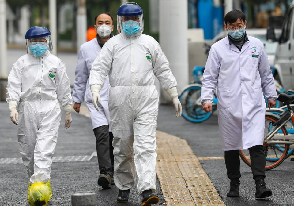 Serangan Balik Cina, Militer AS Disebut Bawa Virus Corona ke Wuhan