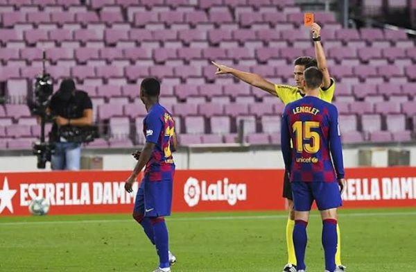 Diwarnai Kartu Merah, Barcelona Berhasil Atasi Espanyol 1-0