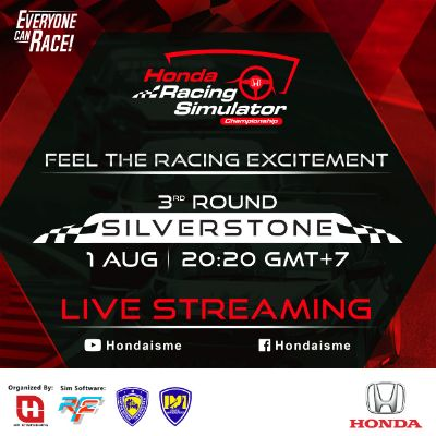 Jelang Seri Ketiga, Honda Bawa Simracer Jajaki Virtual Sirkuit Silverstone