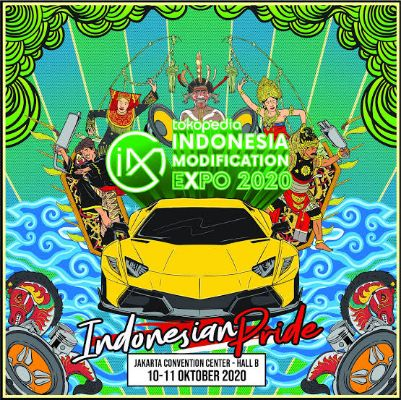 Indonesia Modification Expo 2020 akan Selenggarakan event Offline dan Online Bersamaan