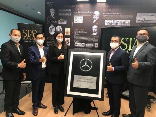 Kinerja Luar Biasa, PT Citrakarya Pranata Bandung Raih Penghargaan Sebagai Dealer of the Year 2019