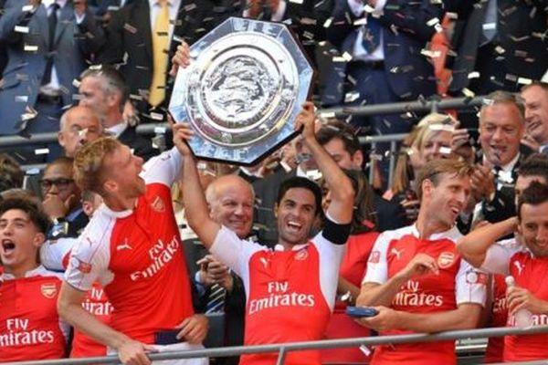 Arsenal Kalahkan Liverpool Lewat Adu Penalti di Ajang Community Shield