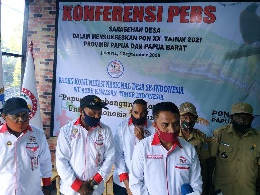 Terkait Penyelenggaraan Sarasehan Desa di Papua, DPN-BKNDI Siap Mendukung dan Menjembatani!