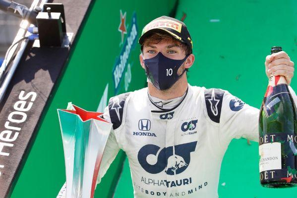 Tim Scuderia HONDA Berhasil Meraih Kemenangandi GP F1 Italia
