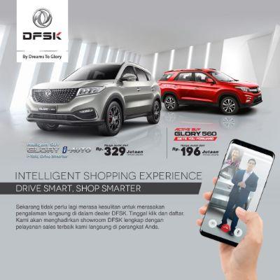 DFSK Hadirkan Intelligent Shopping Experience, Dealer Resmi dalam Genggaman!