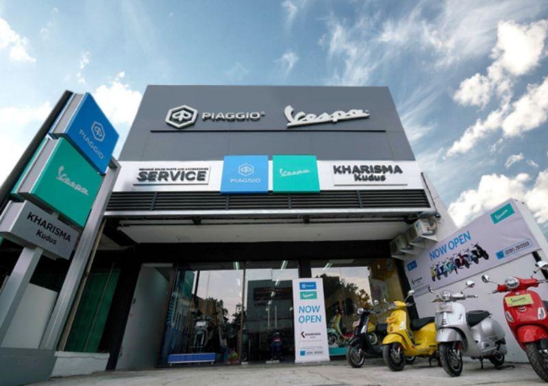 Buka Diler Baru di Kudus, Piaggio Indonesia Rambah Pasar Jawa Tengah