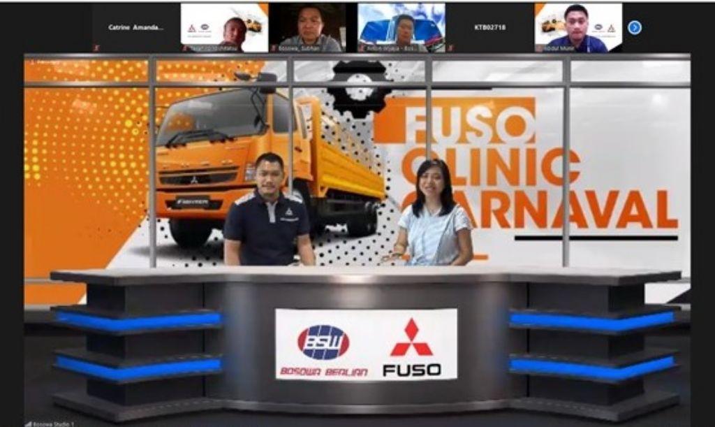 'FUSO Clinic Carnaval', Cara KTB Edukasikan Pentingnya Layanan Purna Jual