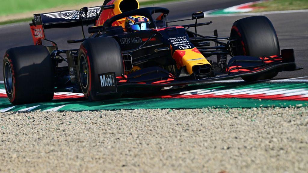 Honda Scuderia AlphaTauri Finis Keempat di GP Emilia Romagna