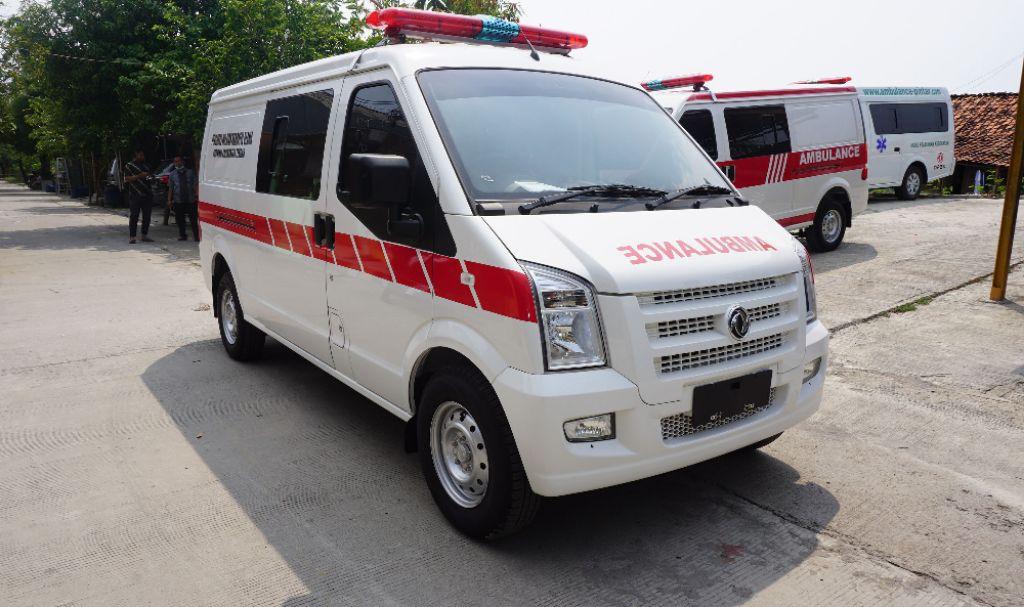 Dukung Sektor Kesehatan, DFSK Luncurkan Gelora Ambulans