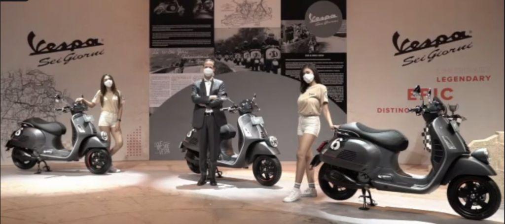 Vespa GTV 'Sei Giorni' II Edition Hadir untuk Mencetak Sejarah Baru