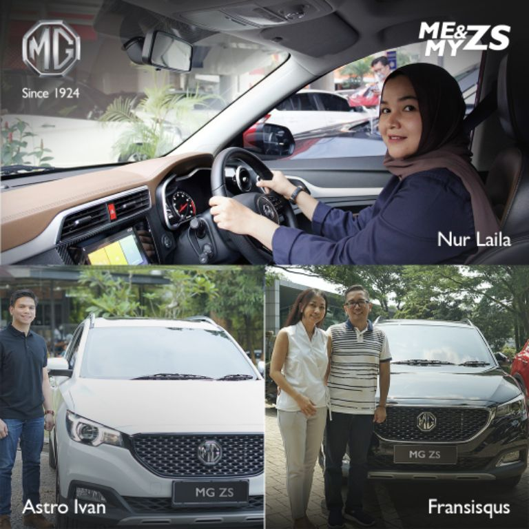 Morris Garage Indonesia dan Pelanggan Berbagi Pengalaman dalam Berkendara MG ZS