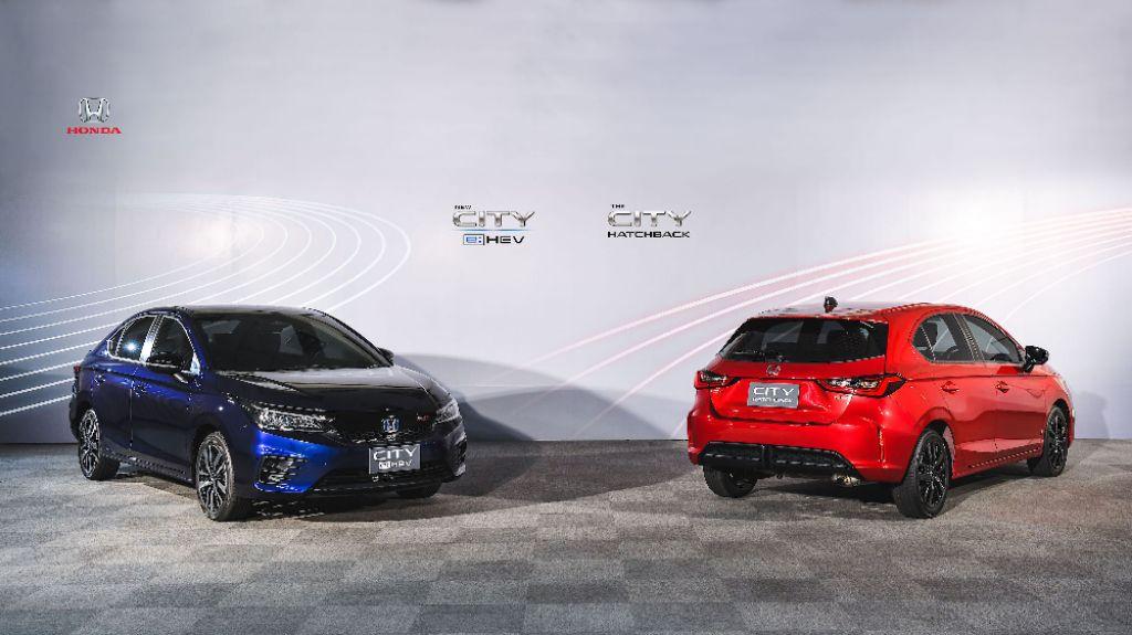 New Honda City E:HEV dan Honda City Hatchback Pertama Meluncur di Thailand