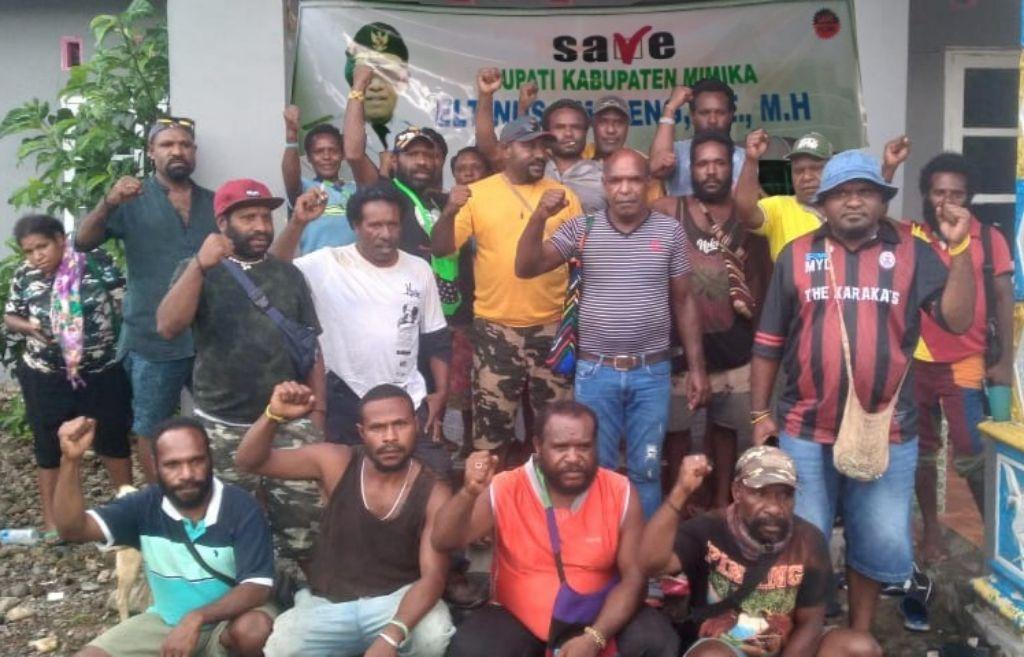 Serukan Dukungan, Warga Amungme Deklarasikan Tim Solidaritas 'Save Bupati Omaleng'