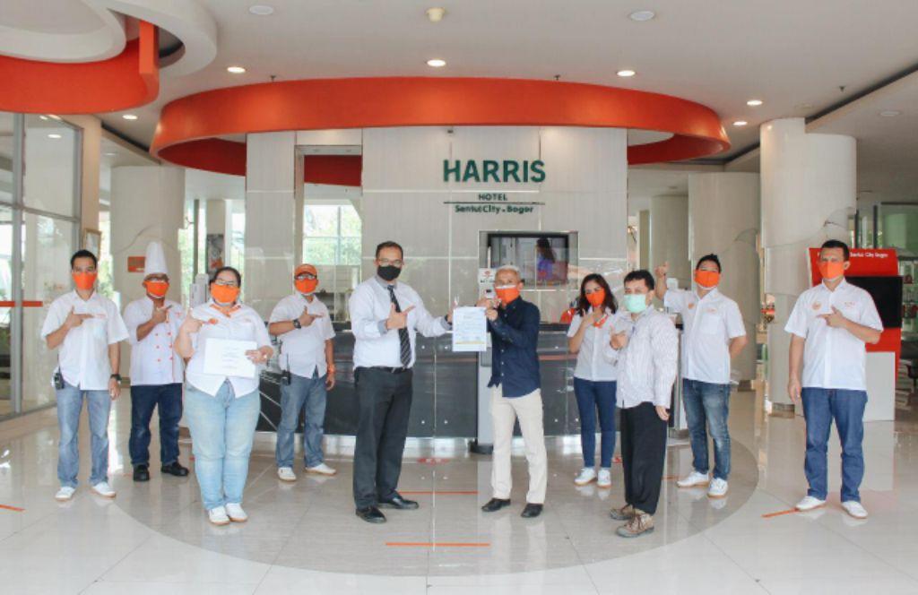 HARRIS Hotel Sentul City Bogor dan Pesona Alam Resort and Spa Puncak Berhasil Meraih Sertifikat CHSE dengan Nilai Sempurna