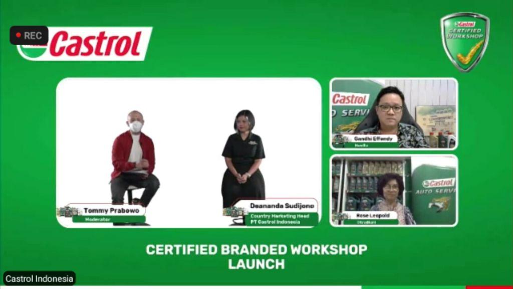 Castrol Mendukung Pertumbuhan Bengkel-bengkel Lokal, Lewat Program 'Castrol Certified Branded Workshop'