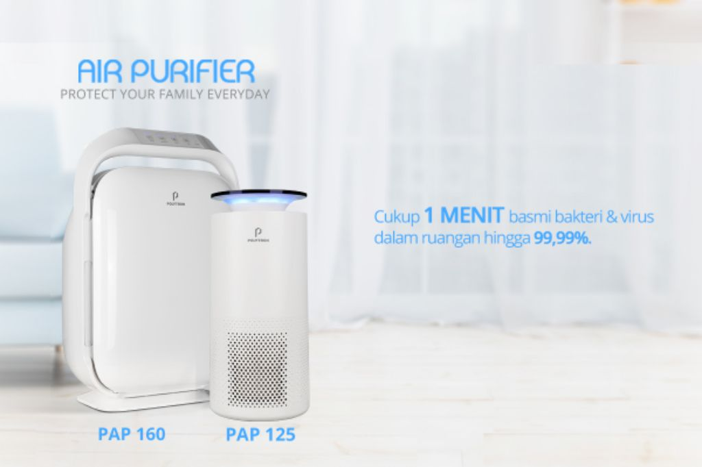 Cegah Berbagai Penyakit Berbahaya Karena Udara Kotor, Polytron Perkenalkan Air Purifier