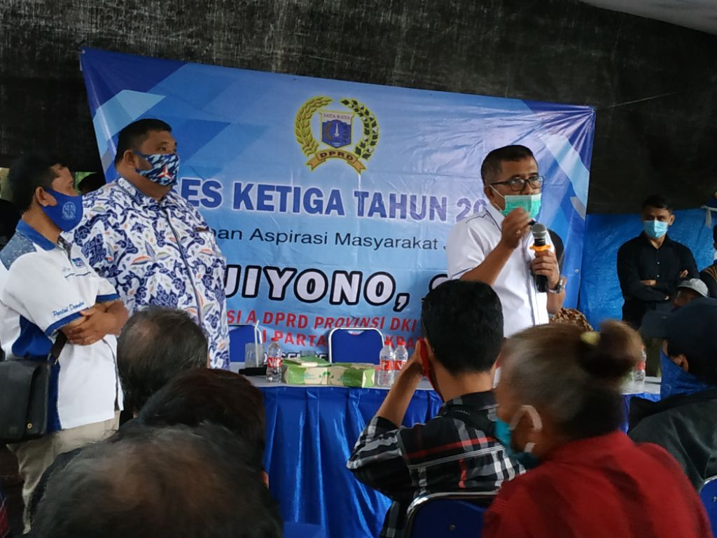 Reses Ketiga Tahun 2020 Komisi A DPRD DKI Jakarta, Jelaskan Program Pemerintah dan Penyerapan Aspirasi Masyarakat Jakarta
