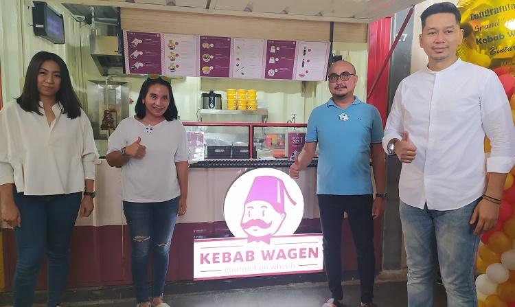 Kebab Wagen Ramaikan Referensi Kuliner Kekinian di Kawasan Bintaro