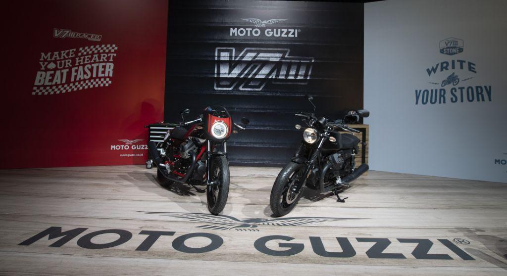 PT Piaggio Indonesia memperkenalkan generasi ketiga Moto Guzzi V7 III