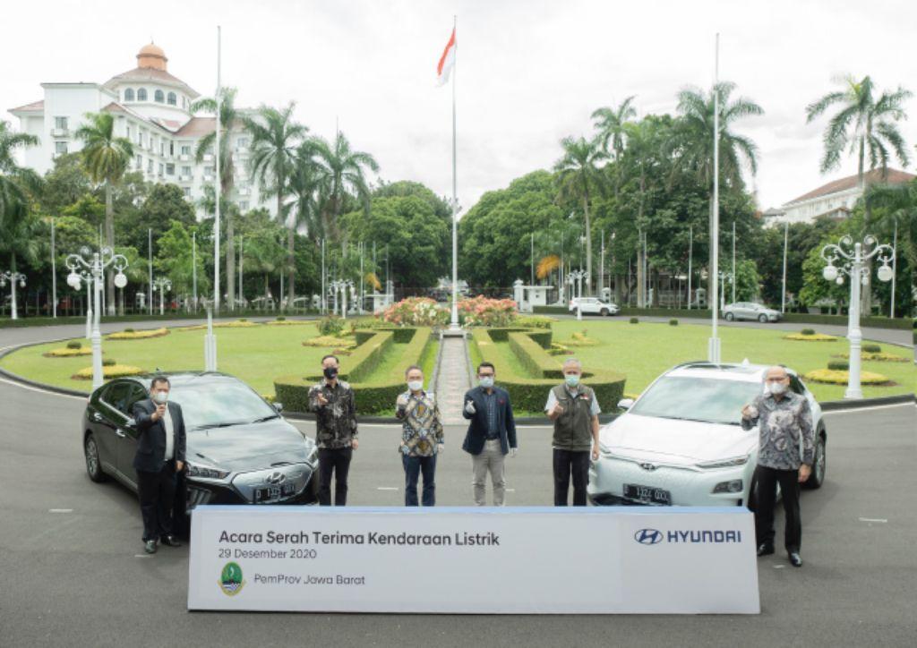 Pemprov Jabar Tetapkan Duo Hyundai Electric sebagai Kendaraan Dinas Resmi, Simak Ulasannya!