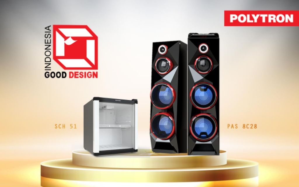 Showcase dan Audio Polytron Raih Penghargaan  Indonesia Good Design 2020