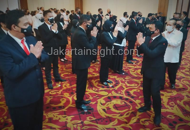 Dirut LPDB KUMKM Resmi Lantik 51 Pejabat Struktural Baru