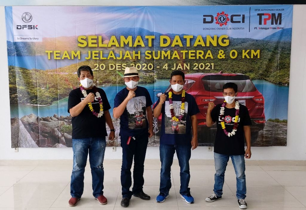 Sukses Eksplorasi Sumatera DFSK Glory 580 Buktikan Handal dan Teruji Tempuh Ribuan KM