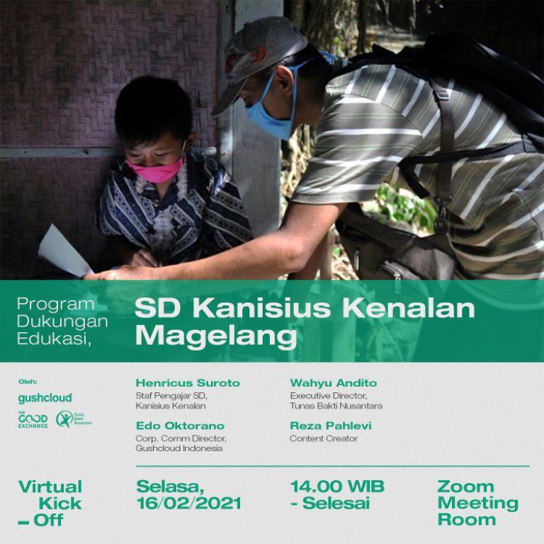 Gushcloud Inisiasi Program Dukung Edukasi Siswa SD Kanisius Kenalan Magelang