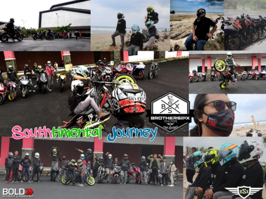 BrothersipX Lampung Gelar RIDEWIS dan WORKSHOP Bertajuk 'Southtimental Journey'