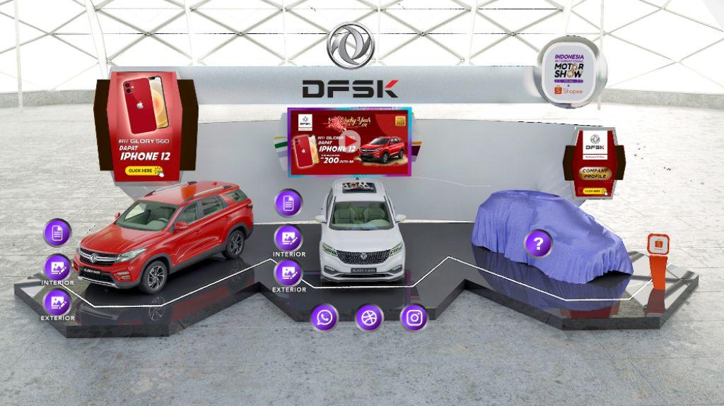 DFSK Ikut Serta dan Meriahkan IIMS Virtual 2021