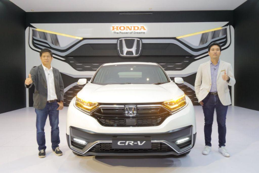 Penampakkan Generasi Kelima Honda CR-V Terbaru, Dilengkapi Teknologi Keselamatan Canggih!