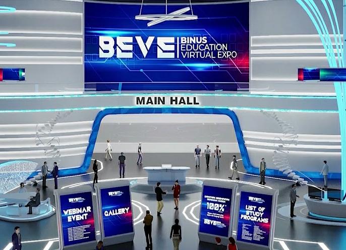 Binus Inisiasi Pameran Edukasi Virtual Terbesar 'BEVE 2021'
