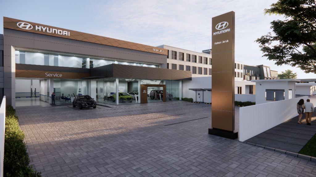Perkuat Jaringan Layanan di Jakarta Barat, Hyundai Motors IndonesiaResmikan Diler Kebon Jeruk