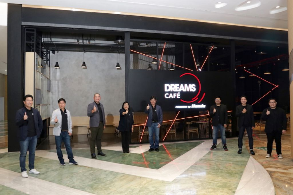 Honda Prospect Motor Resmikan Dreams Cafe Berkonsep 'Home of Dream Makers'