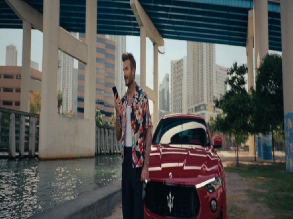 Sambut Satu Abad, Maserati Gandeng David Beckham sebagai Duta Besar Global Merek Baru