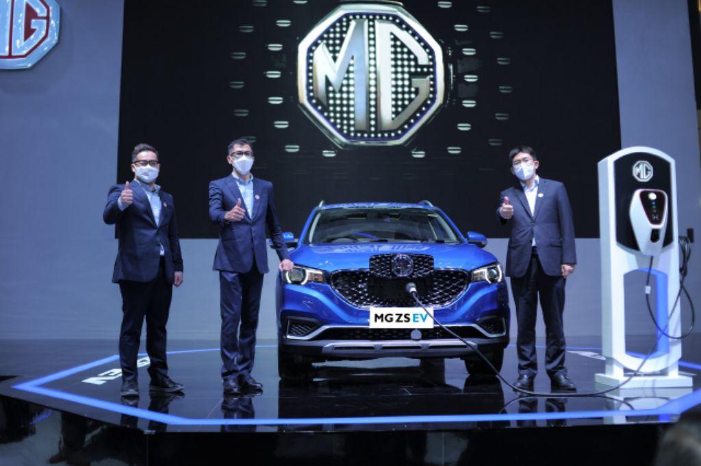MG Curi Perhatian Dunia Otomotif Indonesia di Ajang IIMS 2021