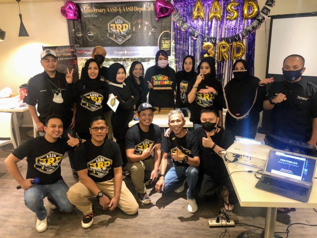 Agya Ayla SoliDaritas Rayakan Anniversary ke-3 dengan Seremoni Tiup Lilin