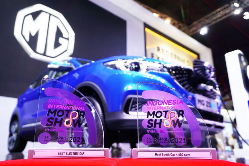 MG Sukses Besar dan Raih Banyak Penghargaan di IIMS Hybrid 2021