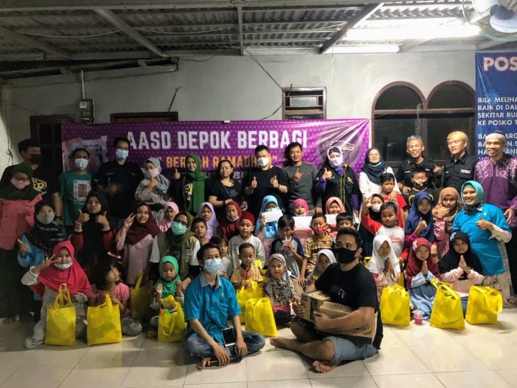 AASD Chapter Depok Bagikan Santunan kepada Anak-Anak Yatim PADI
