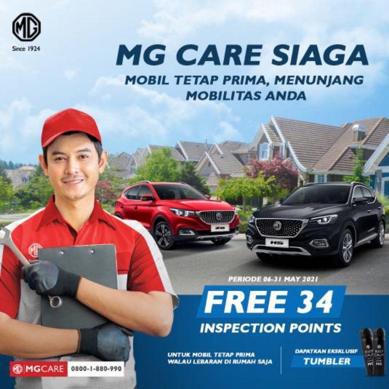 MG Indonesia Pastikan Kendaraan Konsumen Tetap Prima dengan Kehadiran 'MG Care Siaga'