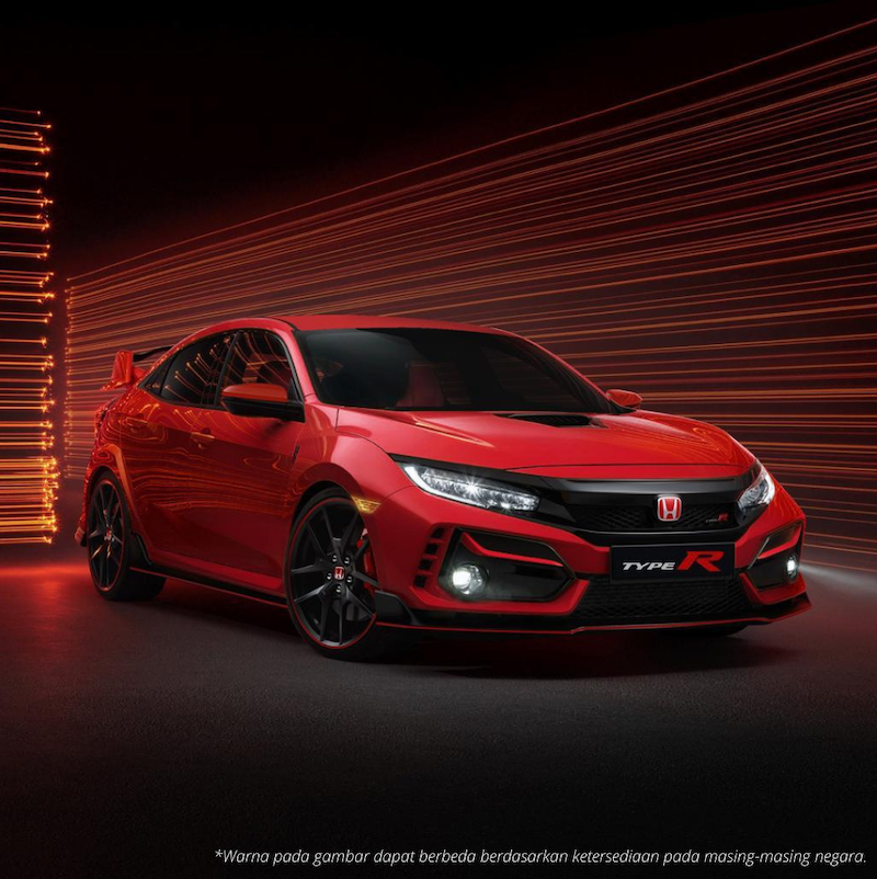 New Honda Civic Type R Tampil Semakin Sporty dan Agresif
