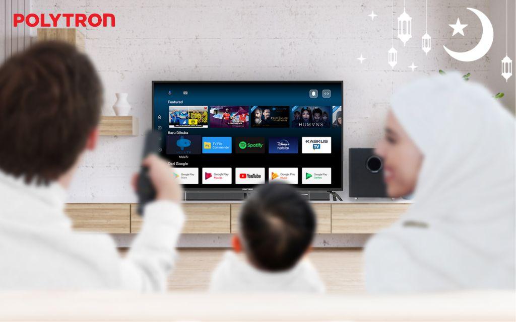 Nikmati Akhir Pekan Lebih Seru Dengan Smart Cinemax Soundbar Android 4K Ultra HD