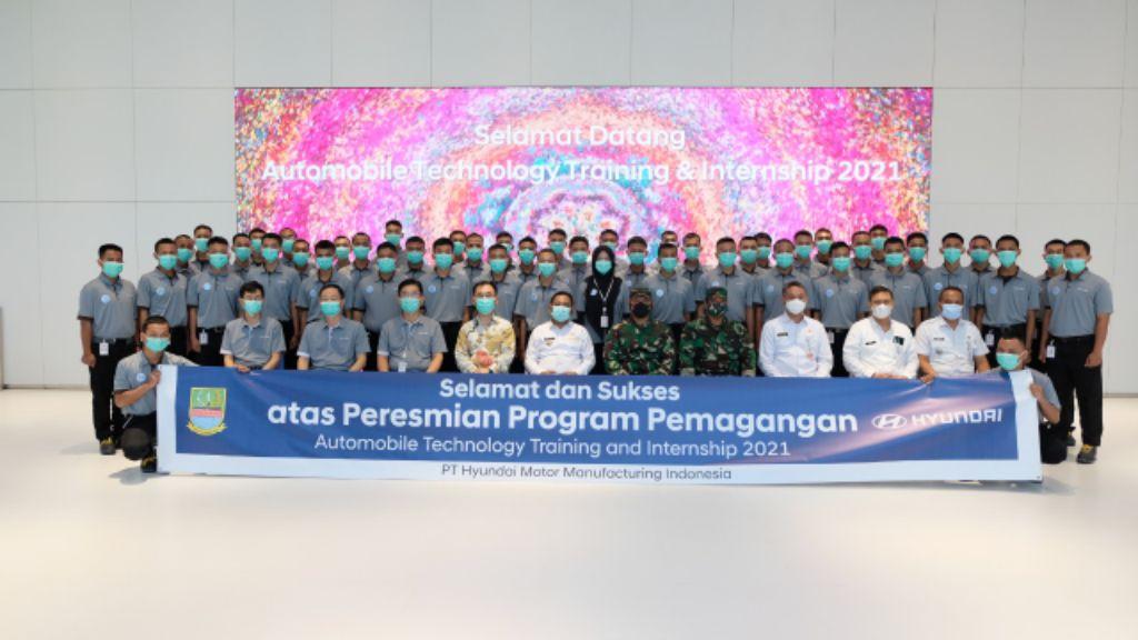 Hyundai Buka Program Pelatihan dan Magang Teknologi Otomotif untuk 50 Lulusan SMK di Bekasi