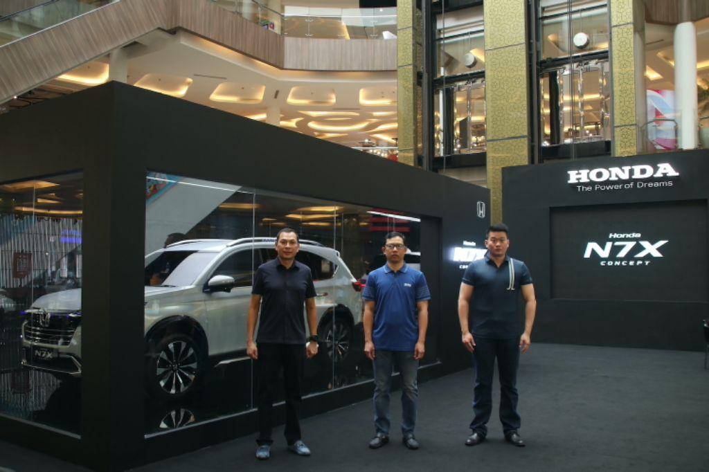 Gelar Roadshow, Bandung Jadi Kota Pertama yang Disambangi Mobil Konsep Honda N7X