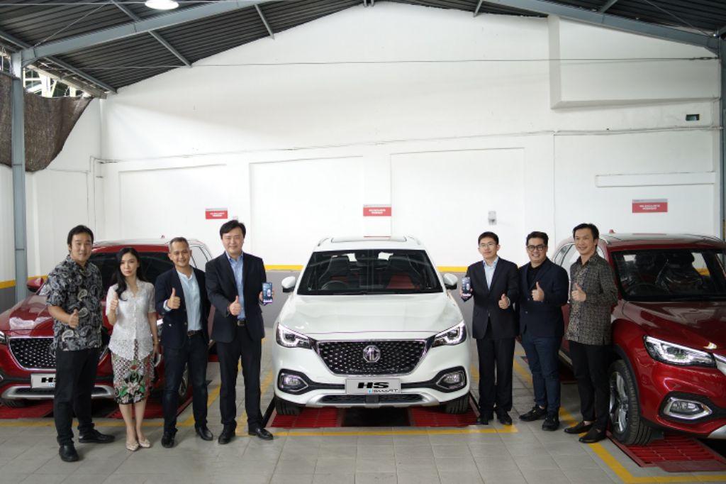 Resmikan Outlet Sutoyo Malang, MG Sekaligus Memperkenalkan Mobil Otonom Pertamanya