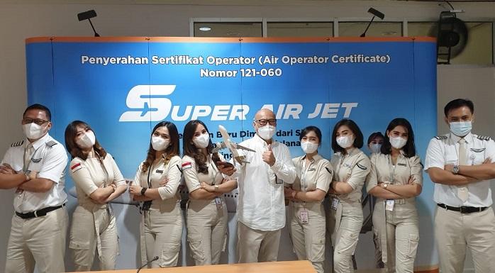 Super Air Jet Ramaikan Industri Transportasi Udara Tanah Air