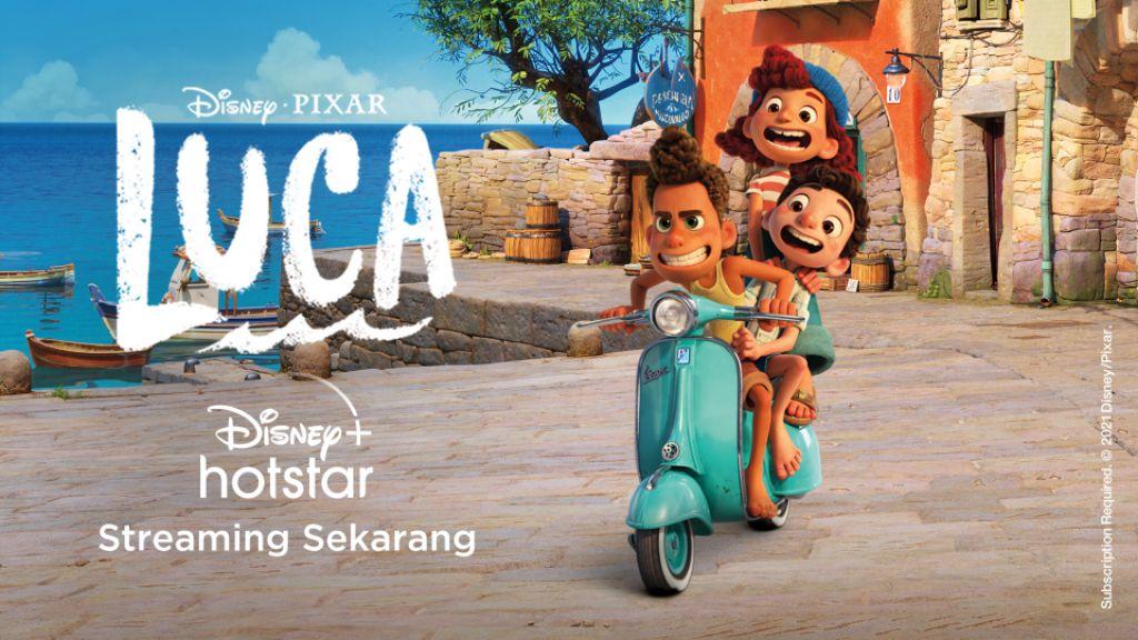 Semangat Jiwa Pemberani Vespa Hadir dalam Film Animasi Disney and Pixar's 'Luca'