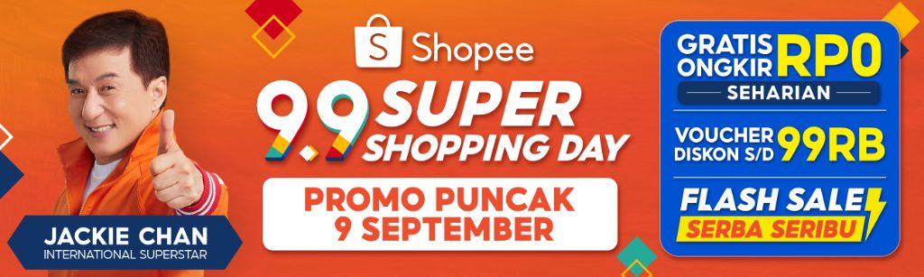 Kemeriahan Puncak Kampanye Shopee 9.9 Super Shopping Day